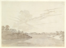 River scene perhaps near Barh (Bihar). c. November 1788 2028